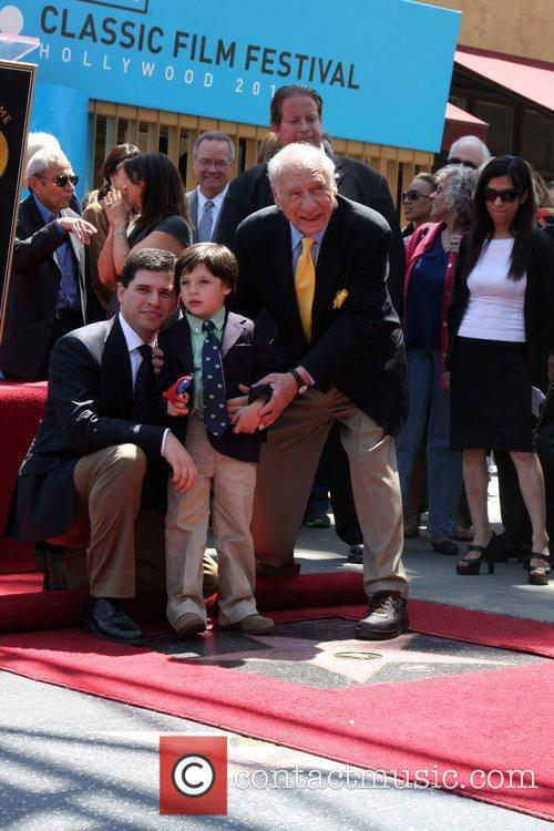 Mel Brooks, Son Max and Grandson Henry 2