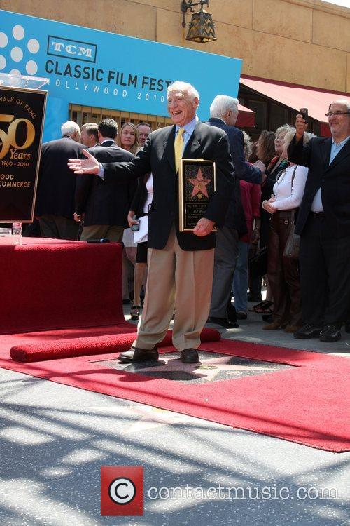 Mel Brooks is honored with a star on...