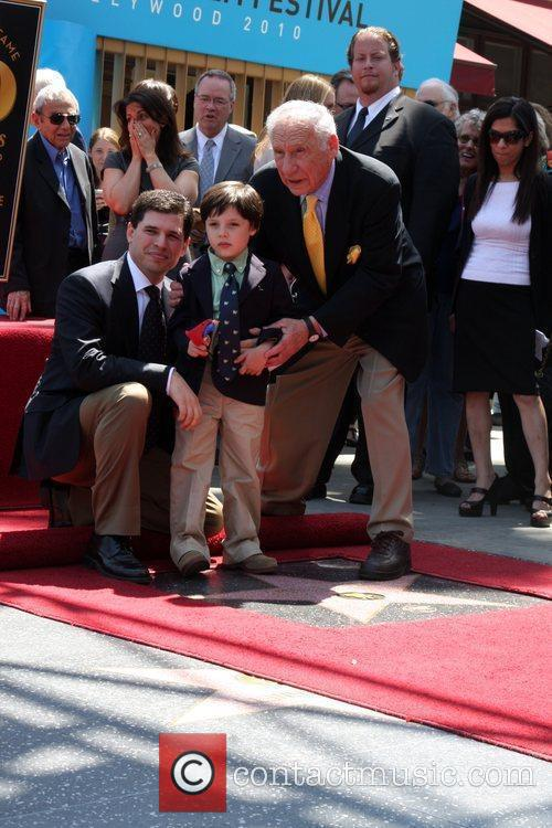 Mel Brooks, With Son Max and Grandson Henry 9