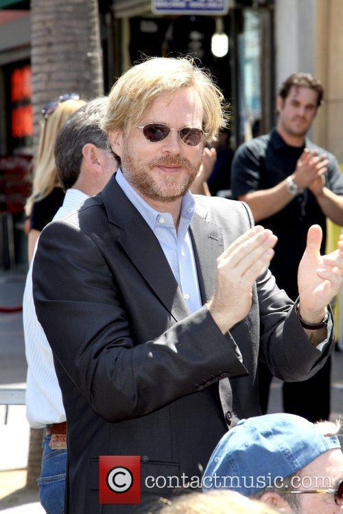 Cary Elwes at the ceremony Mel Brooks is...