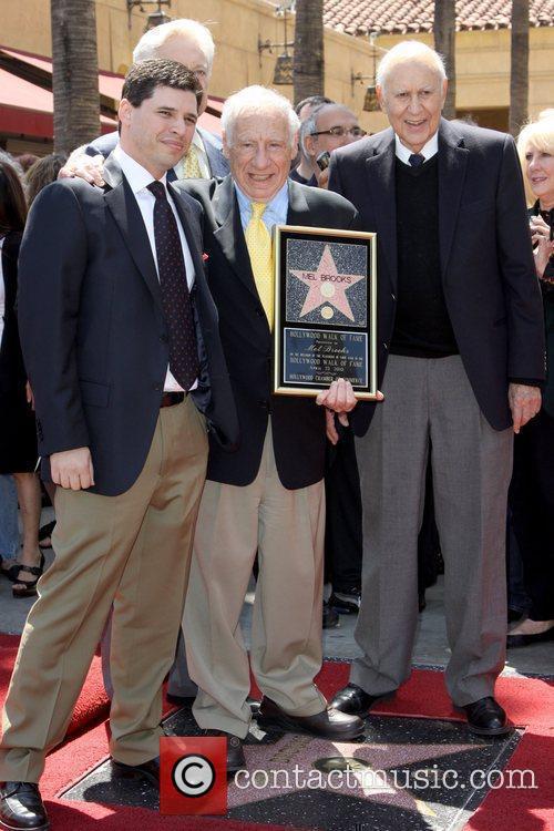 Mel Brooks and Eddie Brooks