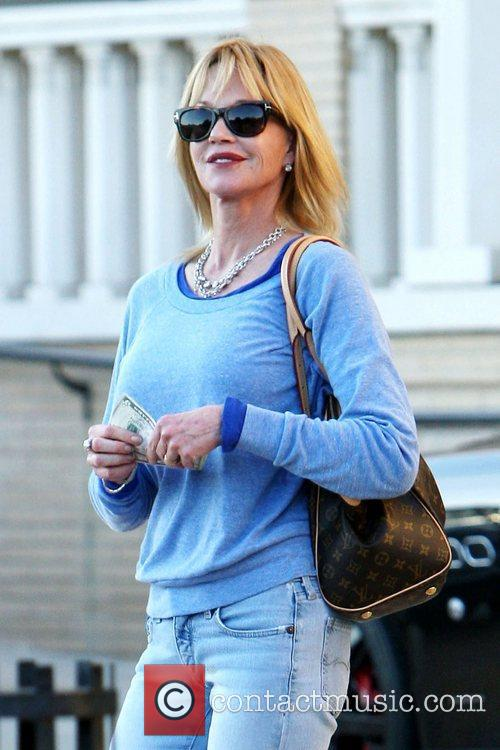 Melanie Griffith shopping at Barneys New York in...