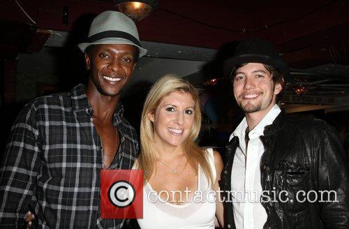 Edi Gathegi, Melanie Segal and Jackson Rathbone 5