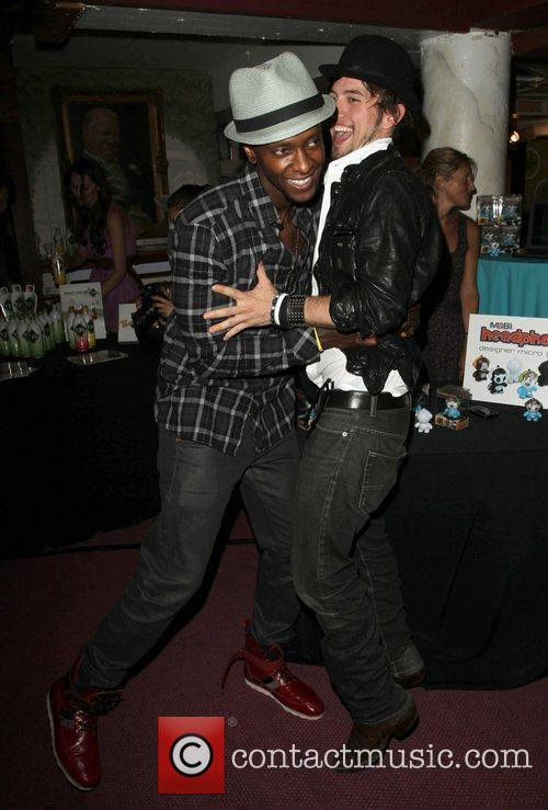 Edi Gathegi and Jackson Rathbone 1