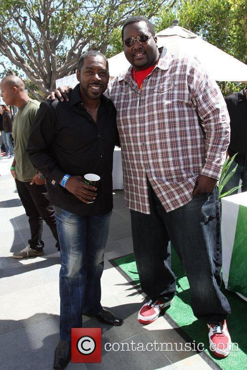 Ernie Hudson, Mtv and Quinton Aaron 3