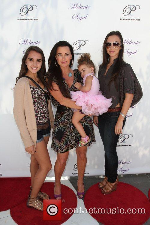 Kyle Richards and family Melanie Segal's MTV VMA...