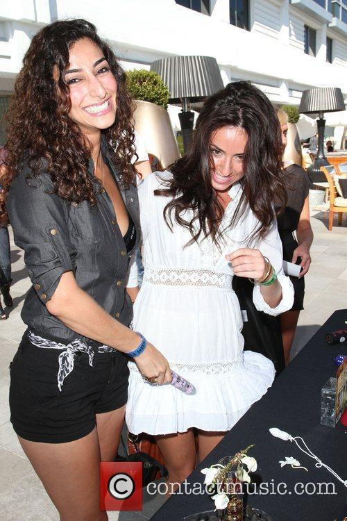 Necar Zadegan and her sister Melanie Segal's MTV...