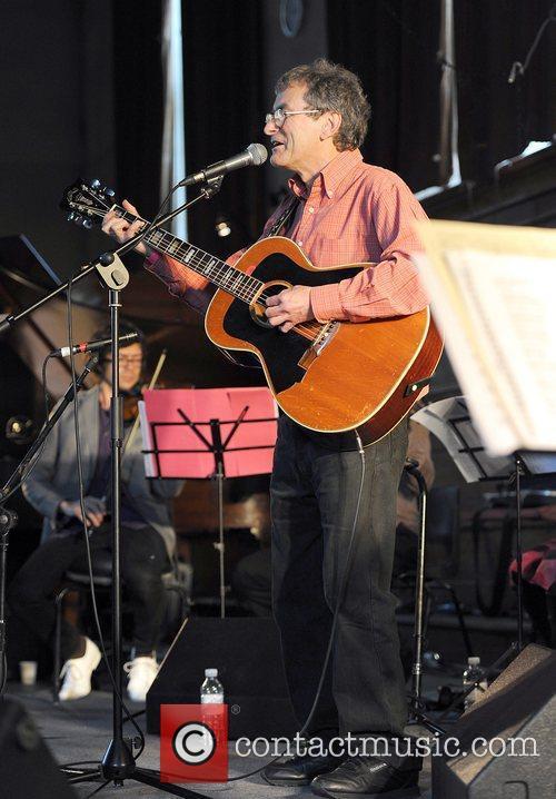 Singer Steve Ashley performing live at the Robert...