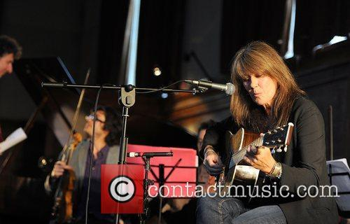Singer Vashti Bunyan performing live at the Robert...