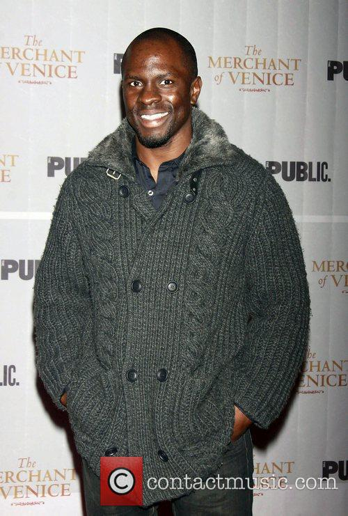 Gbenga Akinnagbe  Opening night celebration of The...