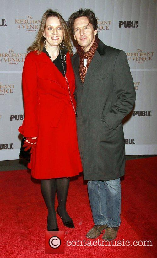 Dolores Rice and her husband Andrew McCarthy...