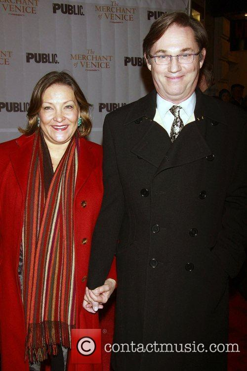 Georgiana Bischoff and her husband Richard Thomas...