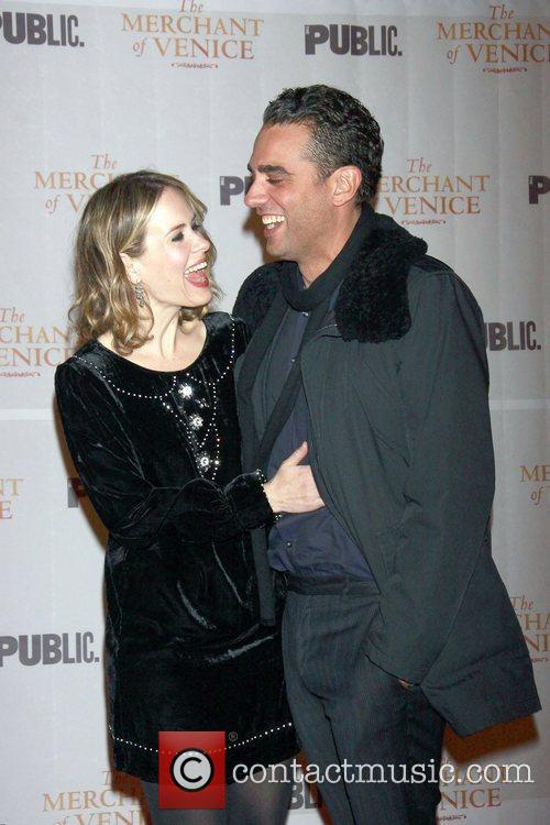 Sarah Paulson and Bobby Cannavale  Opening night...