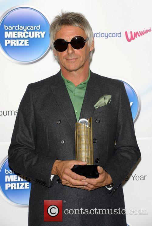 Paul Weller Mercury Prize Nominations at The Hospital....