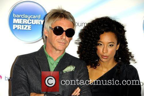 Paul Weller and Corrine Bailey Rae 1