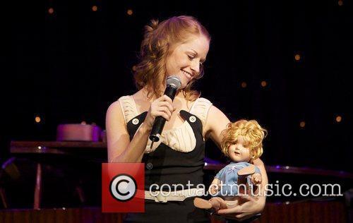 Merrill Grant  performing at the Edinburgh International...