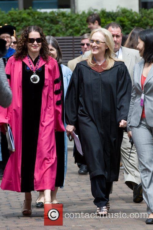 Barnard College President Debora L. Spar, Meryl Streep...