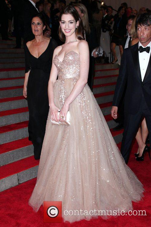 Anne Hathaway The Costume Institute Gala Benefit to...