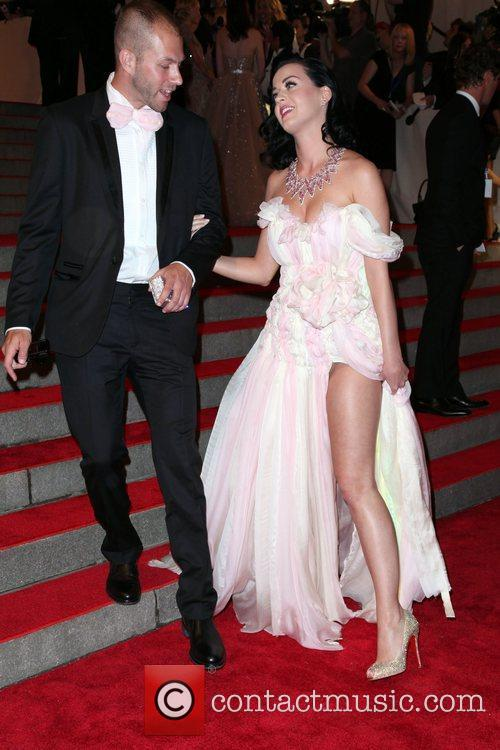 Katy Perry and Guest The Costume Institute Gala...