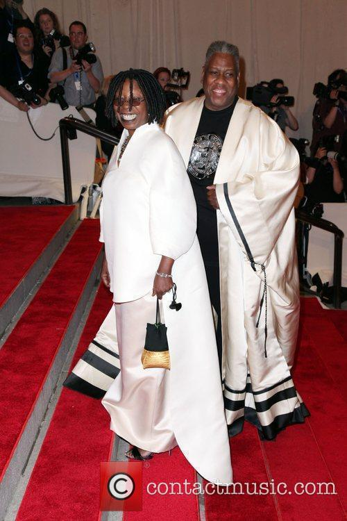 Whoopi Goldberg and Andre Leon Talley The Costume...