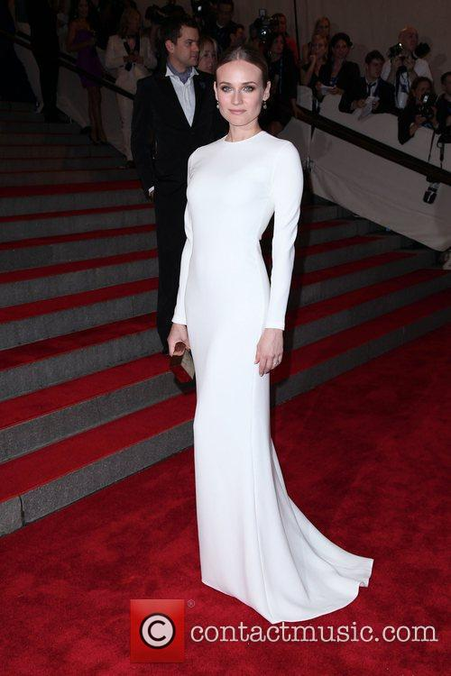 Diane Kruger The Costume Institute Gala Benefit to...