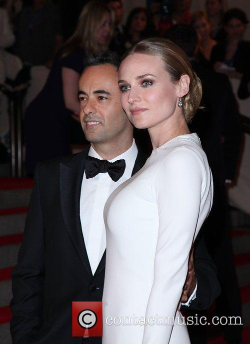 Diane Kruger and Designer Francisco Costa 9