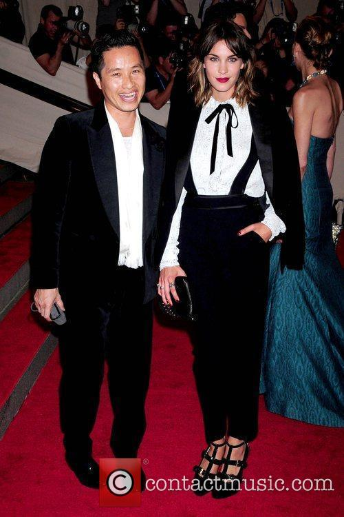 Guest and Alexa Chung The Costume Institute Gala...