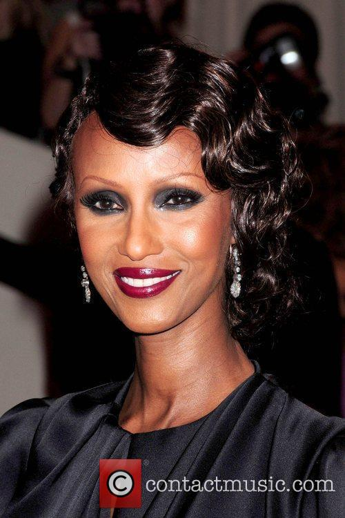 Iman The Costume Institute Gala Benefit to celebrate...
