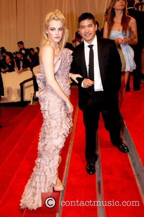 Riley Keough and Guest The Costume Institute Gala...