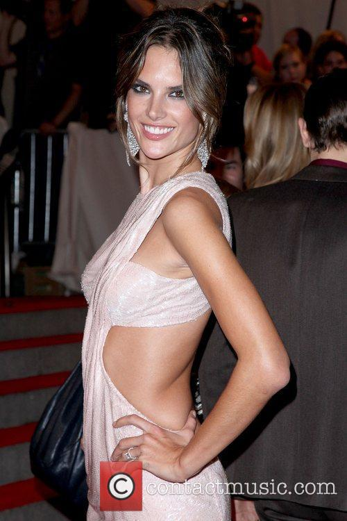 Alessandra Ambrosio The Costume Institute Gala Benefit to...
