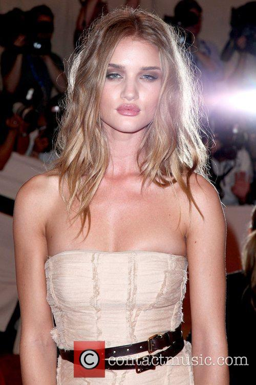 Rosie Huntington-Whiteley The Costume Institute Gala Benefit to...