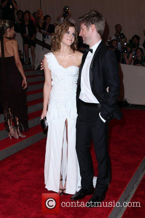 Emma Watson and Christopher Bailey