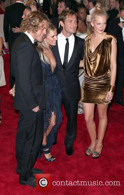 Jude Law and Sienna Miller The Costume Institute...