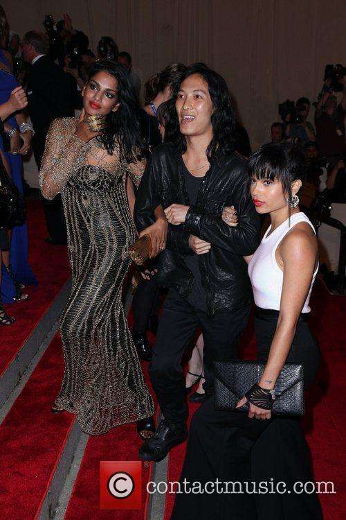 M.I.A., Alexander Wang and Zoe Kravitz The Costume...