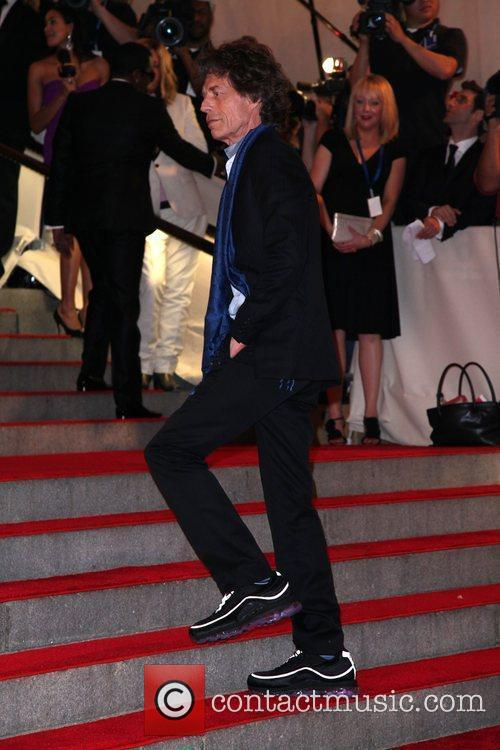 Mick Jagger The Costume Institute Gala Benefit to...