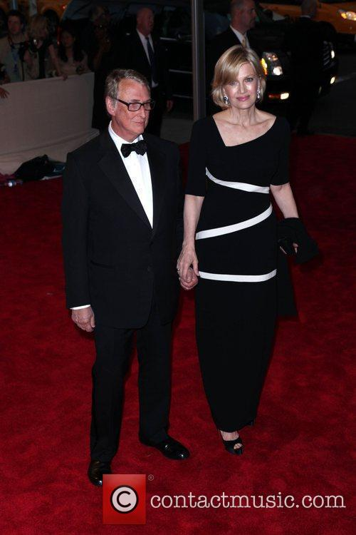 Mike Nichols and Diane Sawyer The Costume Institute...