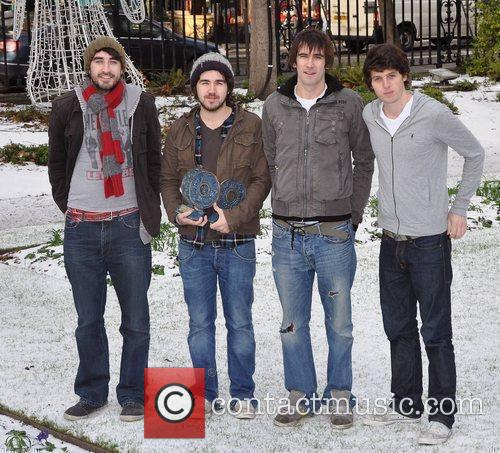 The Coronas 2010 Meteor Music Awards Nominees announcement...