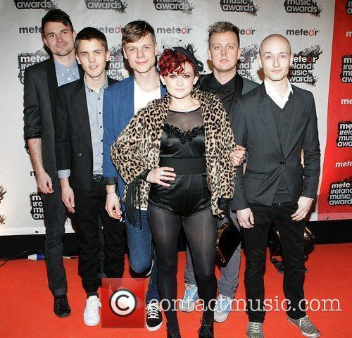 Alpha Beat Meteor Ireland Music Awards at the...