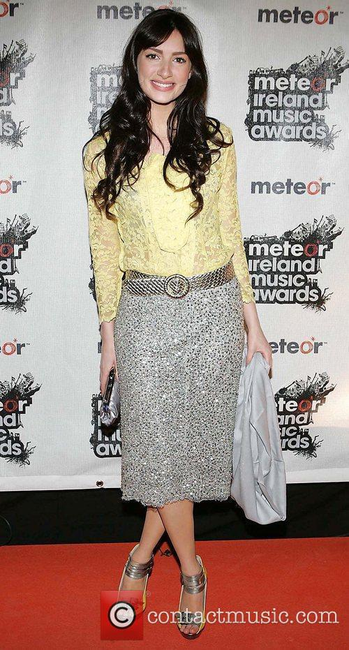 Chloe Arnold Meteor Ireland Music Awards at the...
