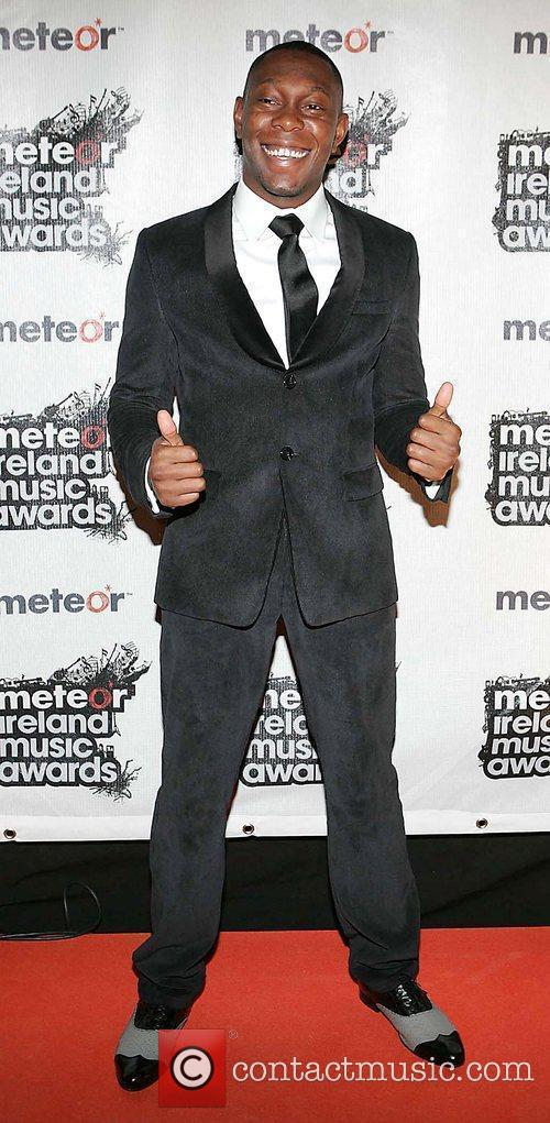 Dizzee Rascal Meteor Ireland Music Awards at the...