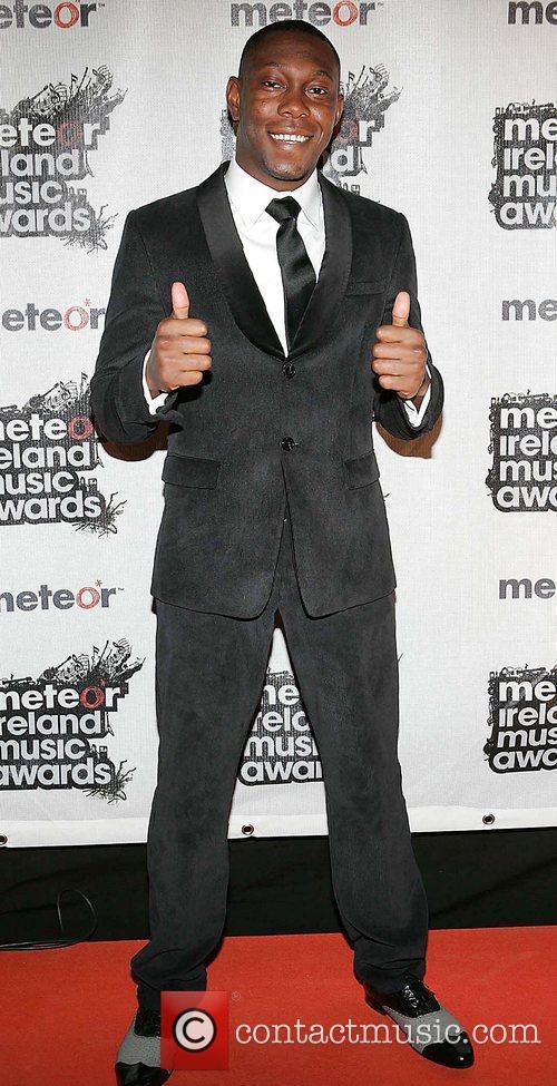 Meteor Ireland Music Awards at the RDS Dublin...
