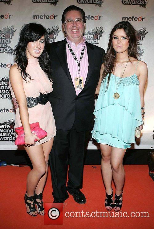 Gerry Ryan, Daughters Lottie Ryan and Bonnie Ryan 6