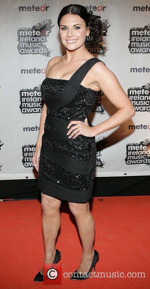 Lisa Cannon Meteor Ireland Music Awards at the...