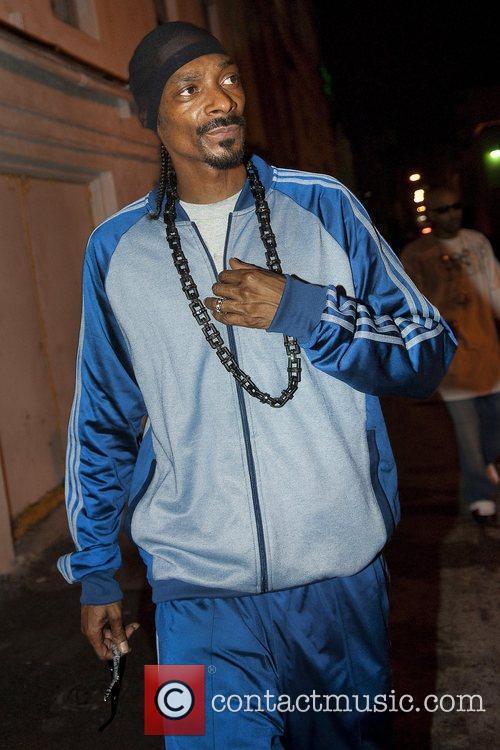 Snoop Dogg seen outside Mansion nightclub Miami Beach,...