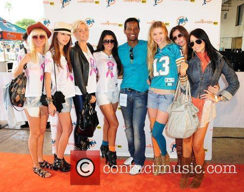 Ilo Ferreira and Guests The Miami Dolphins Tailgate...