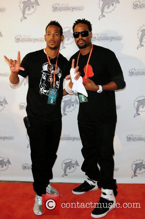 Marlon Wayans and Shawn Wayans The Miami Dolphins...