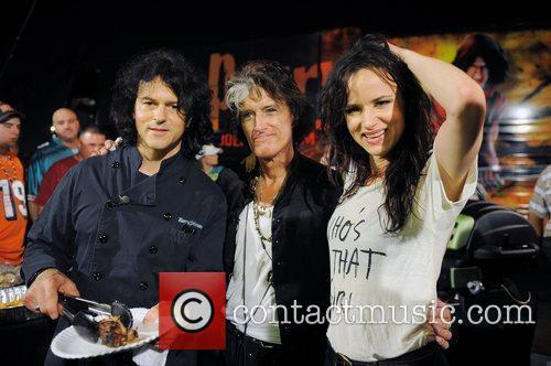 Kerry Simon, Joe Perry and Juliette Lewis...