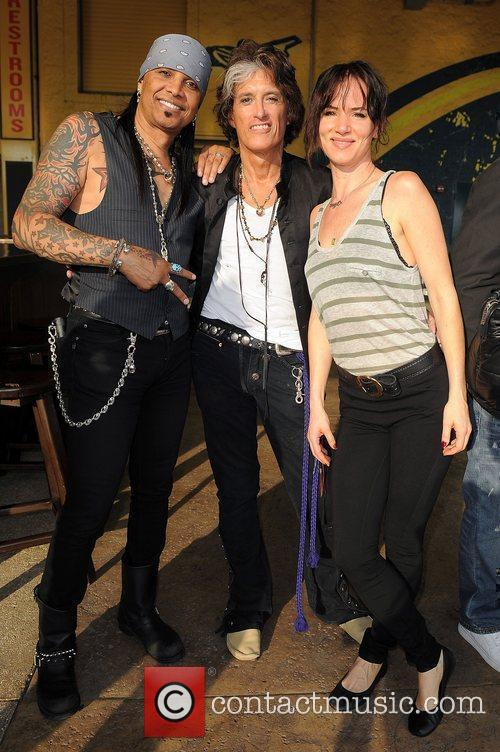 Mikki Free, Joe Perry and Juliette Lewis the...