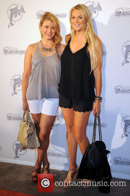 Lauren Bosworth and Stephanie Pratt the Miami Dolphins...