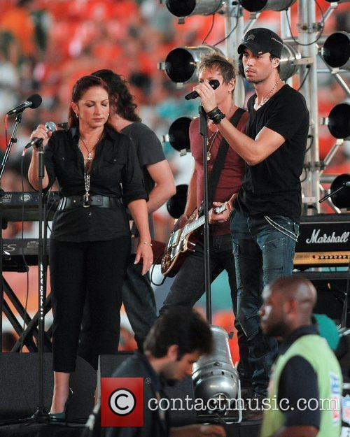 Perform at the Sun Life Stadium before the...
